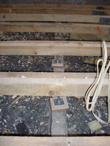 монтаж звукоизоляции деревянного пола