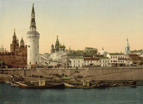 Кремль с берега Москвы-реки