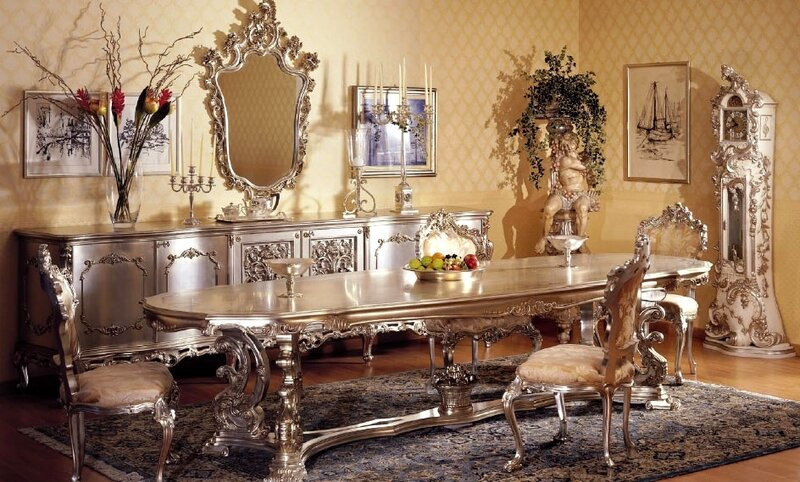 Classic dining room furniture