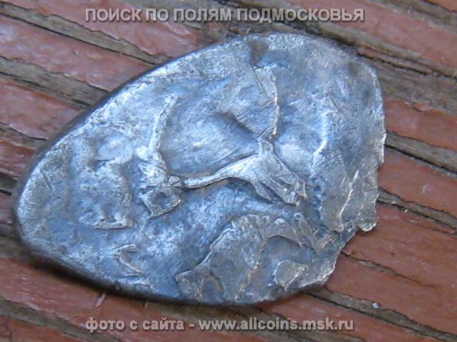 Денга псковская Заманина. №158 по Зайцеву.
