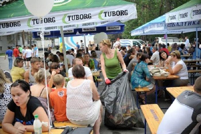 В Хабаровске прошёл фестиваль кваса и пива