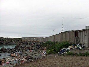 Жители Владивостока загорают посреди канализации и гниющего мусора