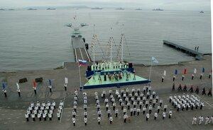 Празднование Дня ВМФ России во Владивостоке