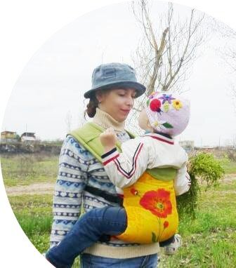 Фаст слинг Гуслёнок. ребенку 2,5 года
