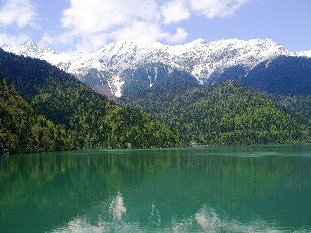 Озеро Рица (Абхазия)
