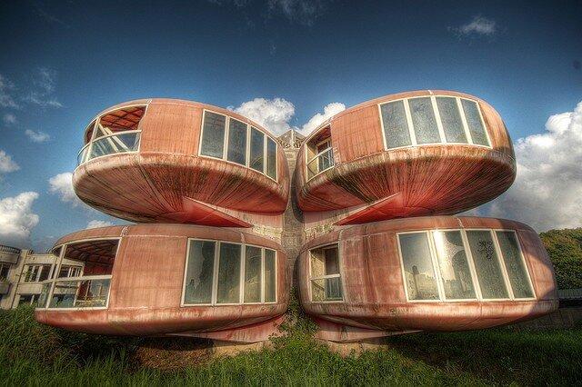 НЛО-дома (The Ufo House). Сан-зи, Тайвань