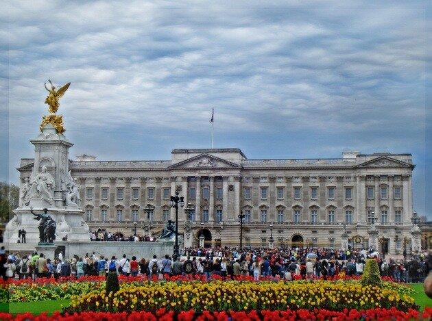 Букингемский дворец лондон