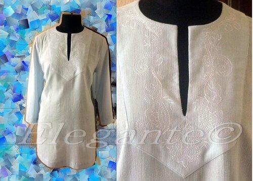 Трикотажное платье с ярусной юбкой 12