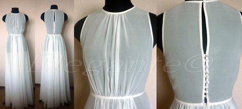 Трикотажное платье с ярусной юбкой 53