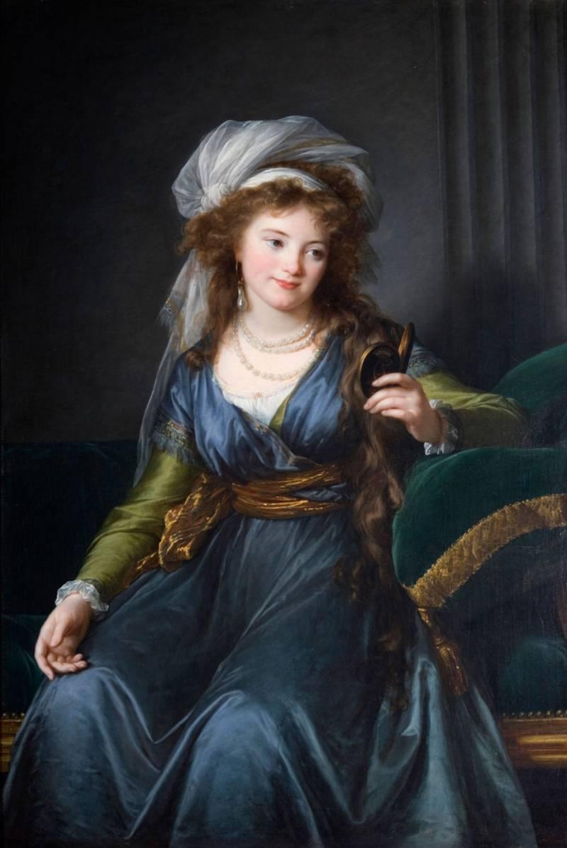 Портрет графини Ekaterinы Skavronskoй.1790