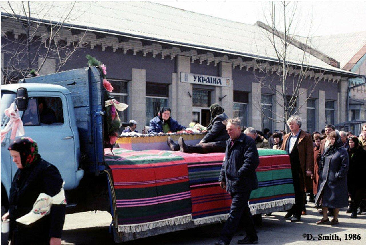 Балта. Погребальная процессия