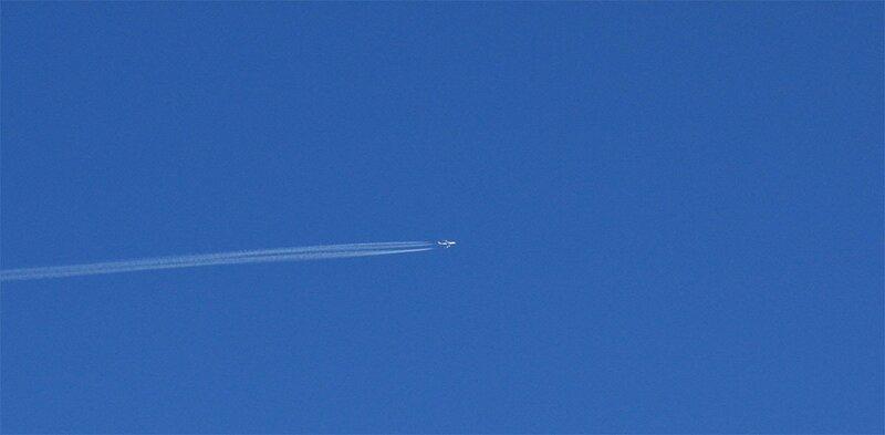 Небо, небо, самолёт