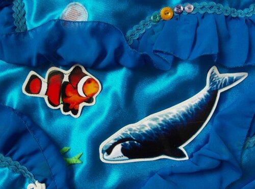 Пример дидактического материала... карточки с изображением морских обитателей