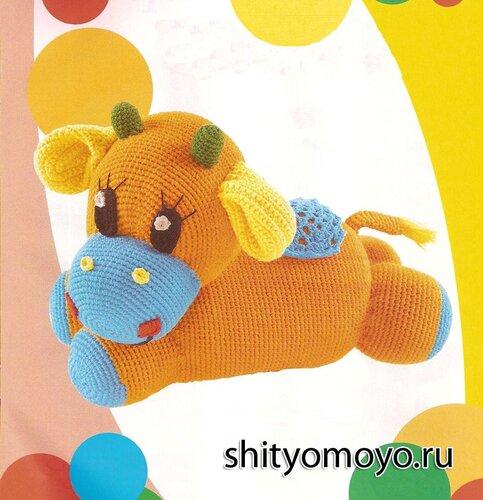 Вязание для детей: игрушки своими руками - корова. Описание и схемы бесплатно