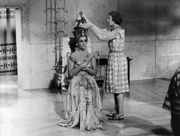 Фильм «Клеопатра» (1963 г). Гламур в египетском стиле. 31