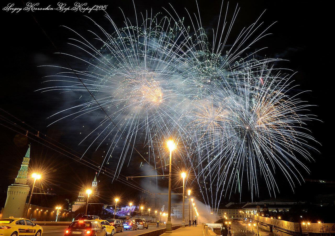 Салют фестиваля Спасская Башня 2015 №17
