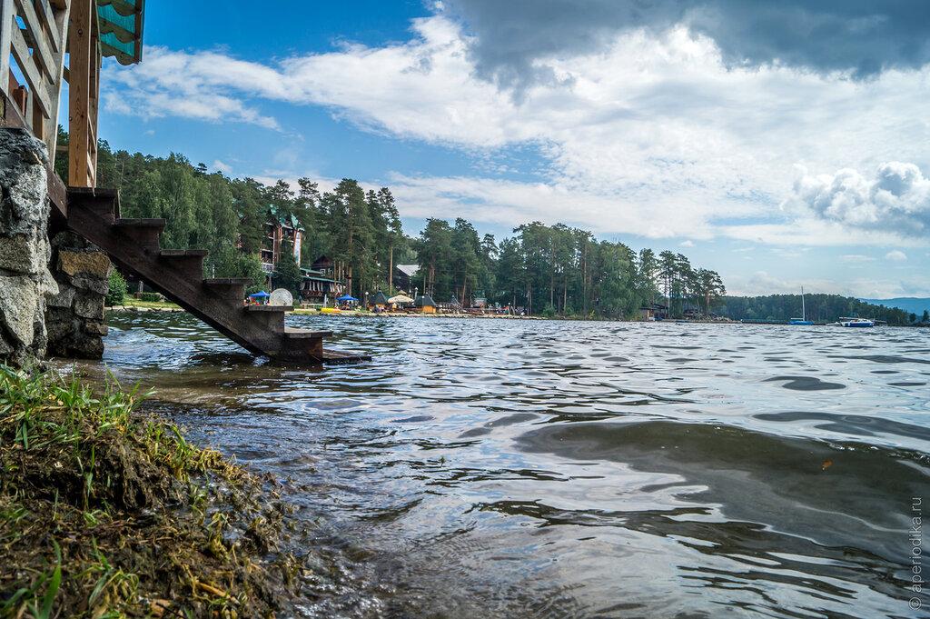 Миасс. Озеро Тургояк. Золотой пляж