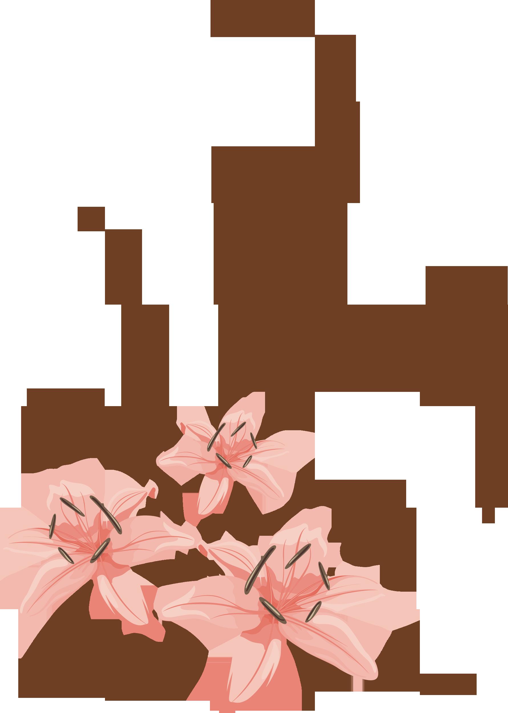 Узор цветка для фотошопа