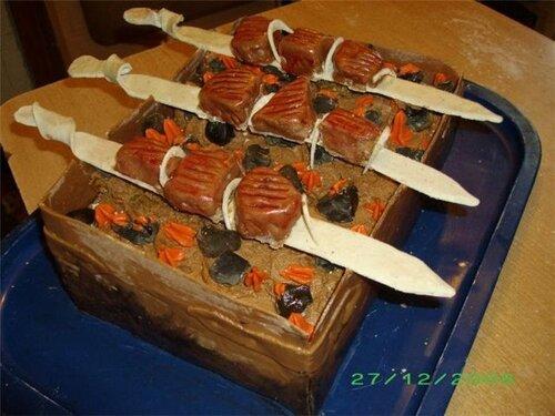 Торт-шашлык
