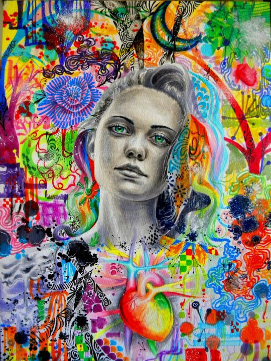 Рисунки и иллюстрации Калли Финк