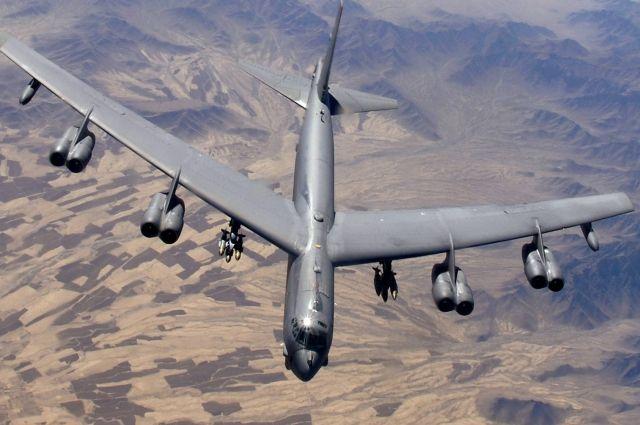Два американских бомбардировщика подлетели к русским границам наБалтике