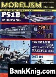Журнал Modelism   №2  1988 jpg в rar  18,94Мб