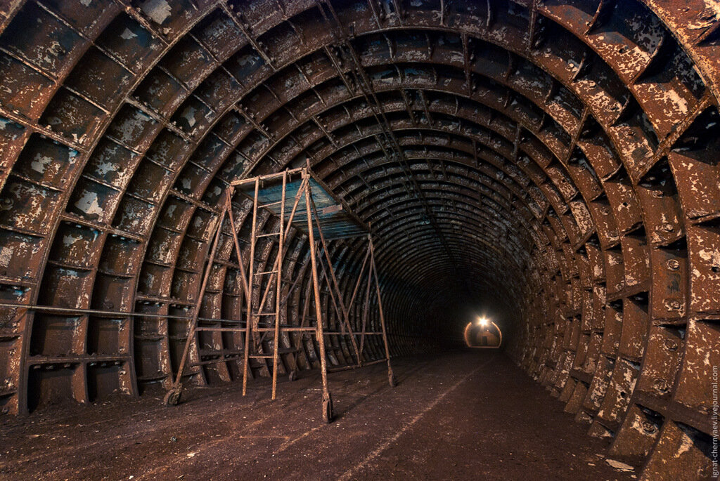 Тюбинг шахты
