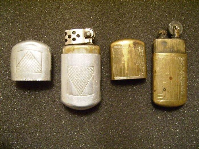 Всякие разные старые зажигалки