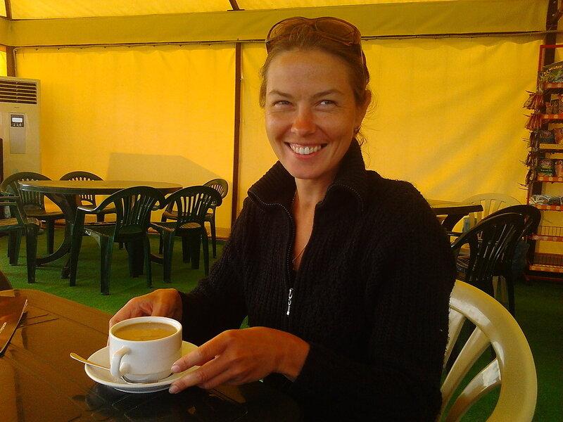 Катя в кафеБелевцов