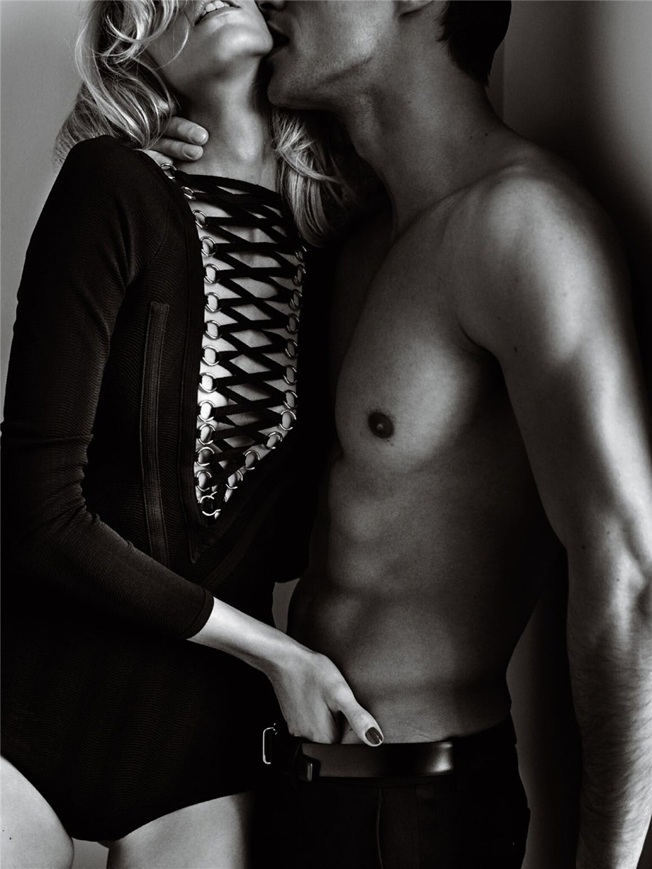 Николай Даниэльсон и Аня Рубик / Anja Rubik & Nikolai Danielsen by Mario Testino in Vogue Paris april 2015