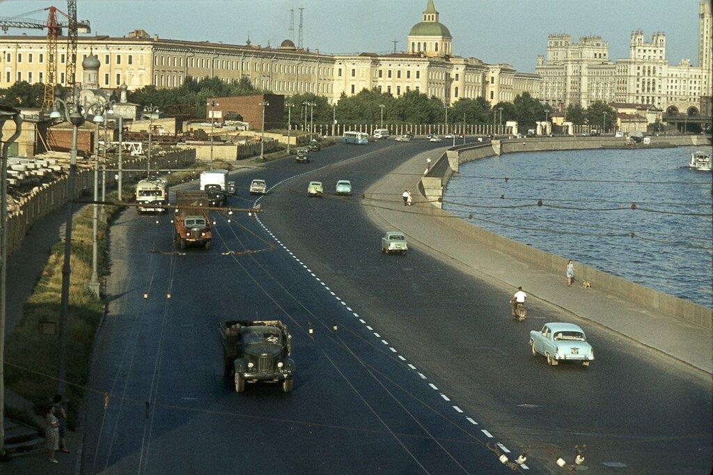 Москворецкая набережная 1964