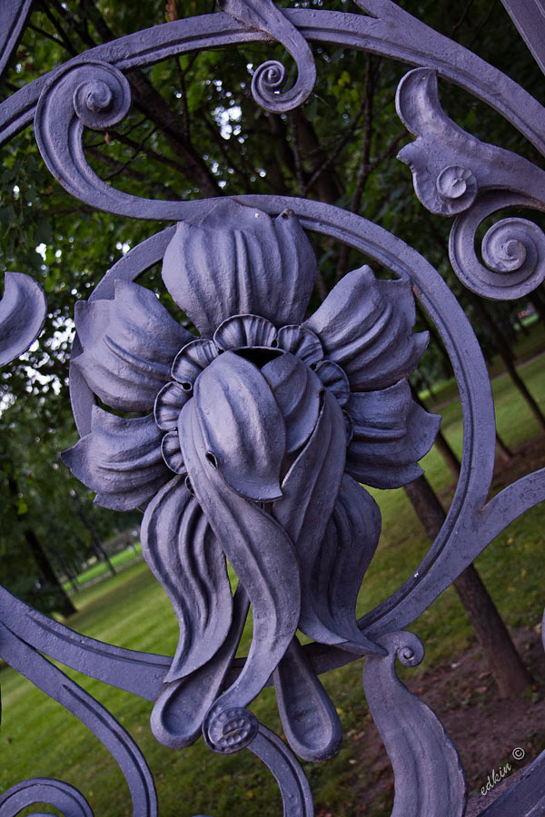 Санкт-Перербург, ограда Михайловского сада