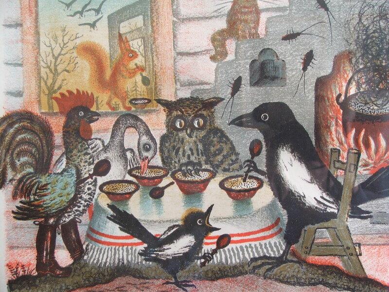 Иллюстрации Васнецова Юрия Алексеевича к сказкам - Фото 1724/12