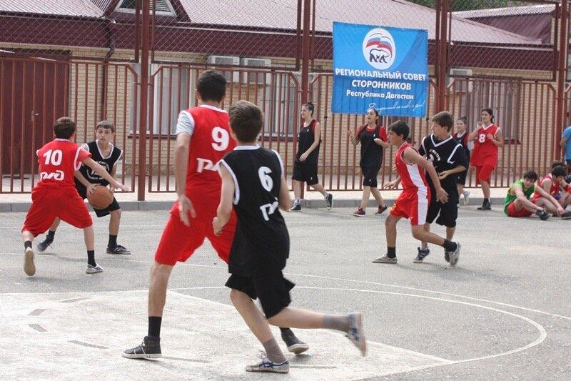 стритбол, уличный спорт в дагестане, махачкала, стритбол правила. Фото: Гамид Гитинов
