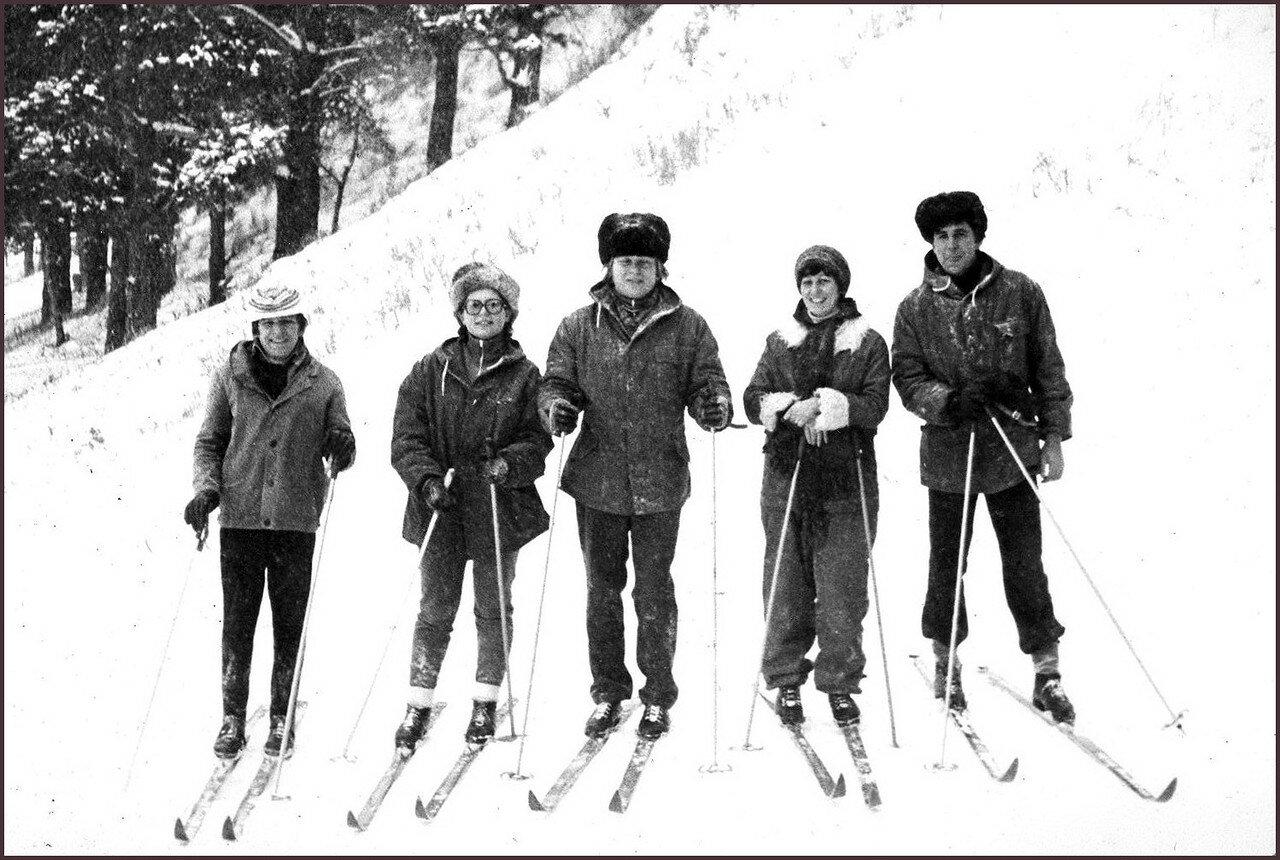 1980. Чернолучье. Омск. 28-29 ноября