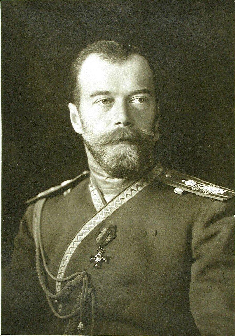 01. Портрет императора Николая II