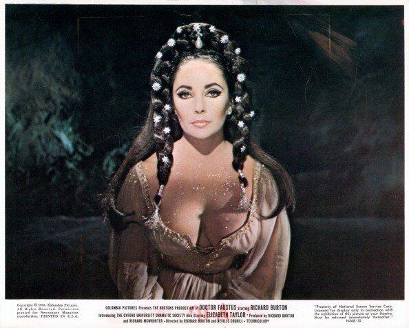 Elizabeth Taylor in 'Doctor Faustus'