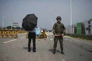 Южная Корея выключила громкоговорители с пропагандой