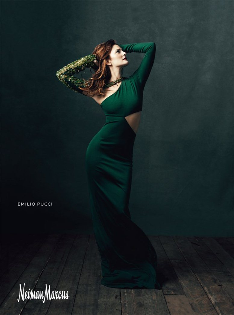Дрю Бэрримор / Drew Barrymore by Norman Jean Roy for Neiman Marcus -Art of Fashion