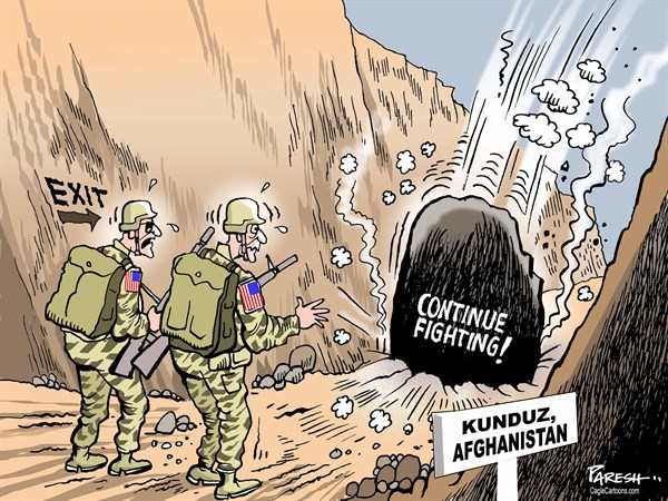 US REMAINS IN AFGHANISTAN