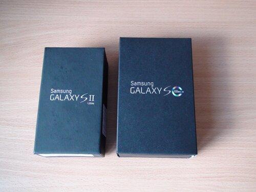 Коробки для Samsung GT-I9100 Galaxy S II и GT-I9003 Galaxy S scLCD