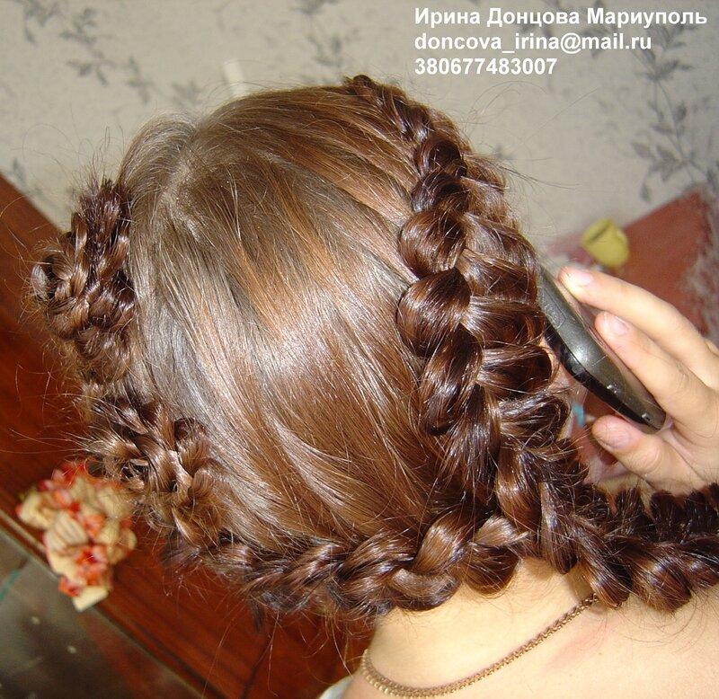 Женская коса плетение символика - Каталог причесок.
