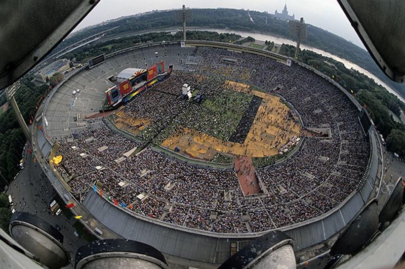 Moscow Music Peace Festival - такого в России больше не было