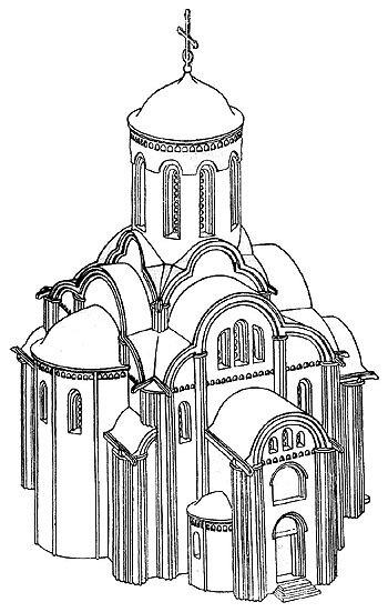 Реконструкция собора Троицкого монастыря на Кловке в Смоленске
