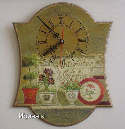 """часы """"Неувядающие"""""""