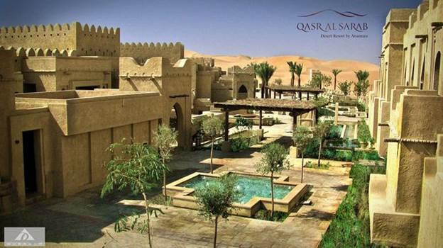 Планируем отпуск: отель Qasr Al Sarab Desert Resort