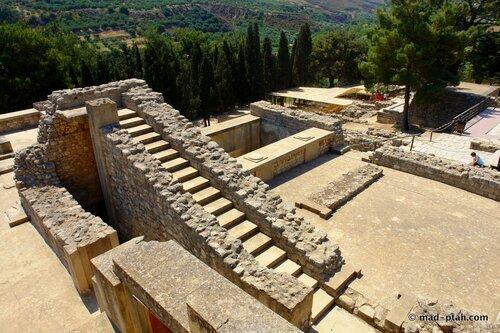 кносский дворец, крит, греция, ираклион