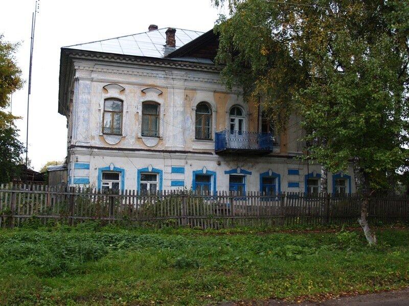 Дом Илларионовых. XVIII век