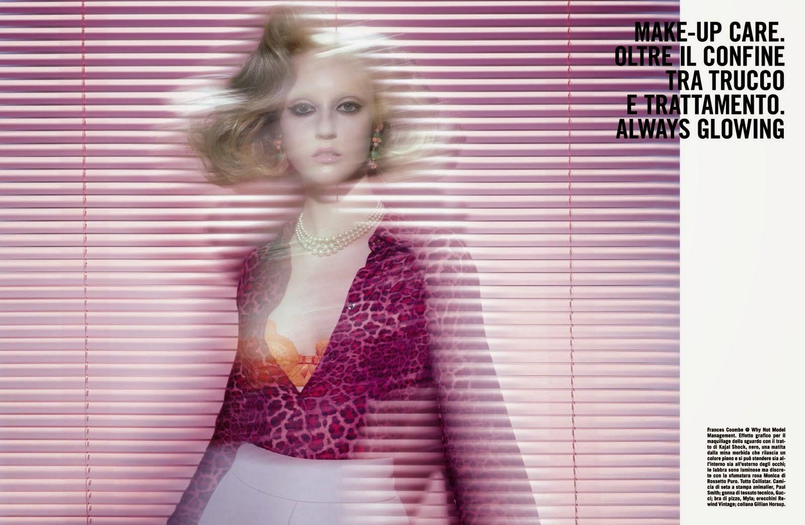 Frances Coombe в журнале Vogue Italia