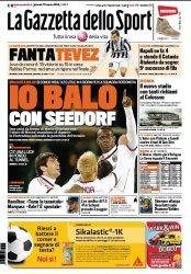 Журнал La Gazzetta dello Sport (27.03.2014)